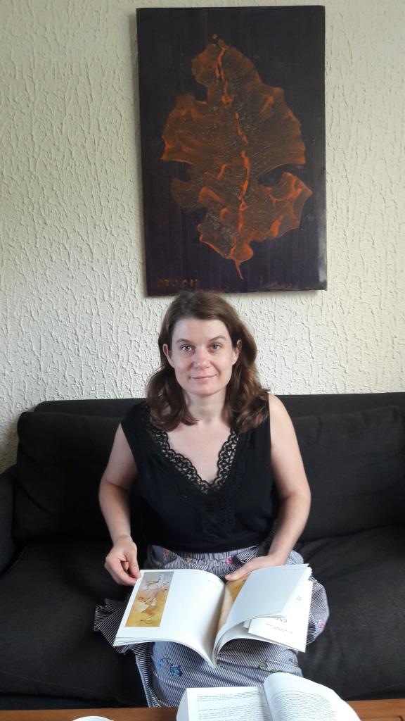La blogueuse à Talant