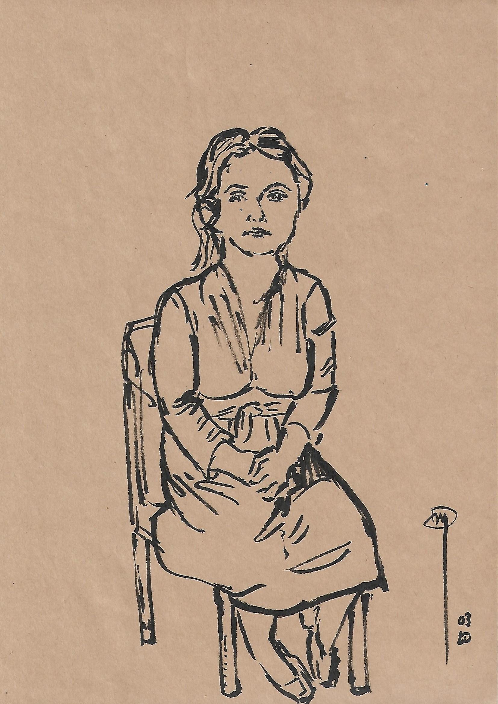 Marie Pra, par David Henri Mahe